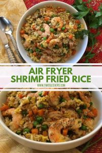 Air Fryer Shrimp Fried Rice Pinterest 2