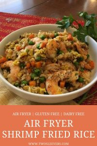 Air Fryer Shrimp Fried Rice Pinterest 3