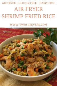 Air Fryer Shrimp Fried Rice Pinterest 5