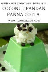 Coconut Pandan for Pinterest
