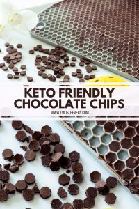 Keto Friendly Chocolate Chips Pinterest Image 2