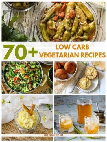 Low Carb Vegetarian Recipes Post Image