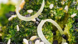 Air Fryer Sesame Ginger Broccoli + Video