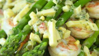 Shrimp and Asparagus Gribiche