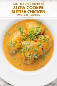 Slow Cooker Butter Chicken Pinterest 1