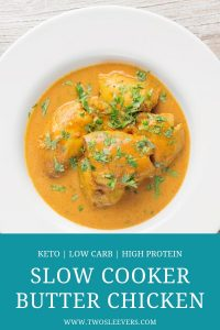 Slow Cooker Butter Chicken Pinterest 4