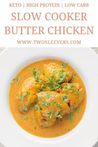 Slow Cooker Butter Chicken Pinterest 5