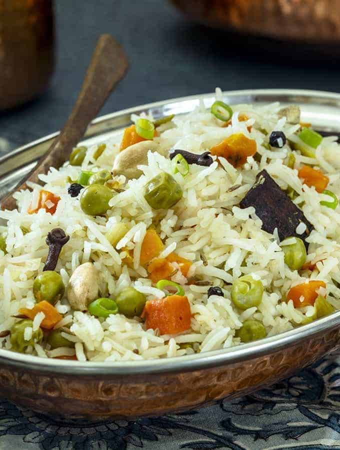 Indian Pilau Side Shot