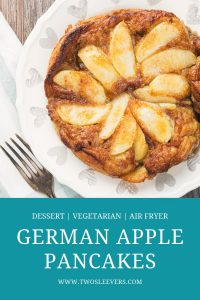 german apple pancakes