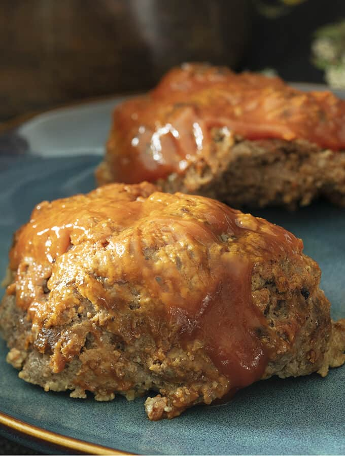 A close up of Keto Meatloaf.