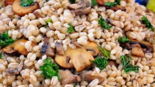 Barley Pilaf With Mushrooms