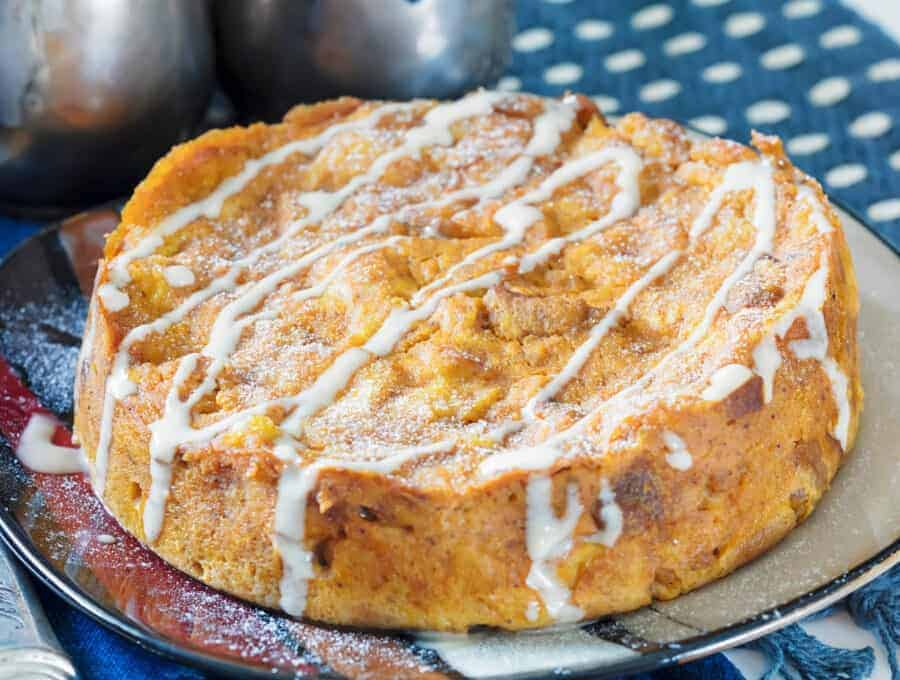 Pumpkin Bread Pudding
