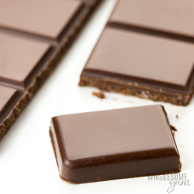Low Carb Keto Chocolate Bar Recipe