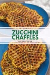 Zucchini Chaffles