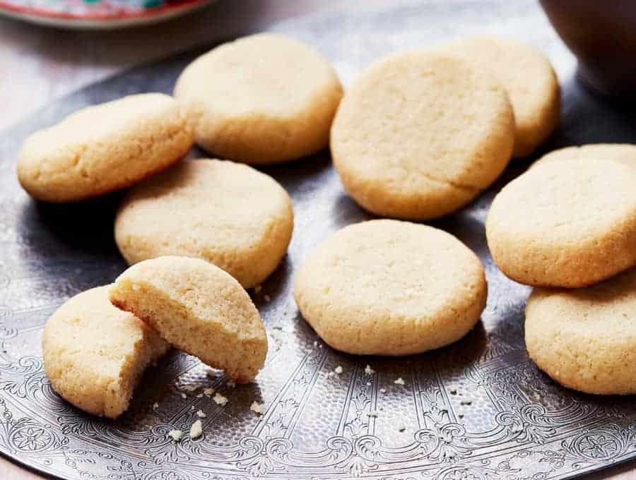 Almond Flour Sugar Cookies Recipe