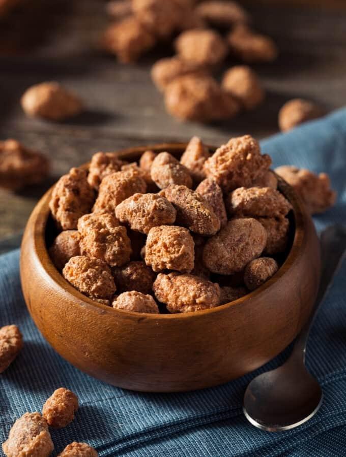 Keto Candied Almonds