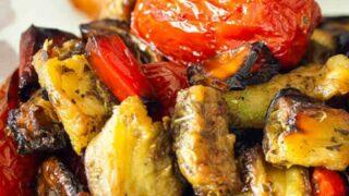 Air Fryer Roasted Ratatouille Recipe