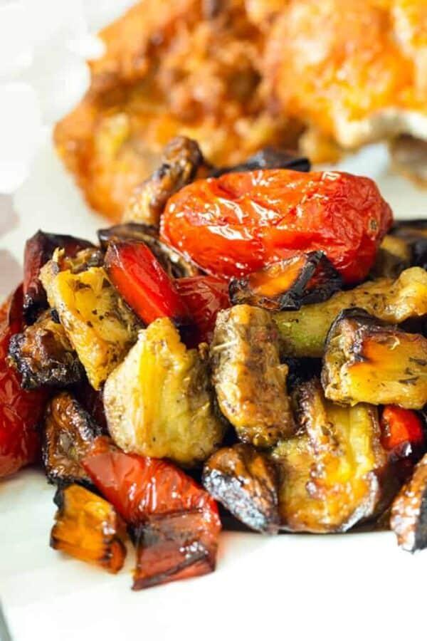 Roasted Ratatouille Recipe Featured Image