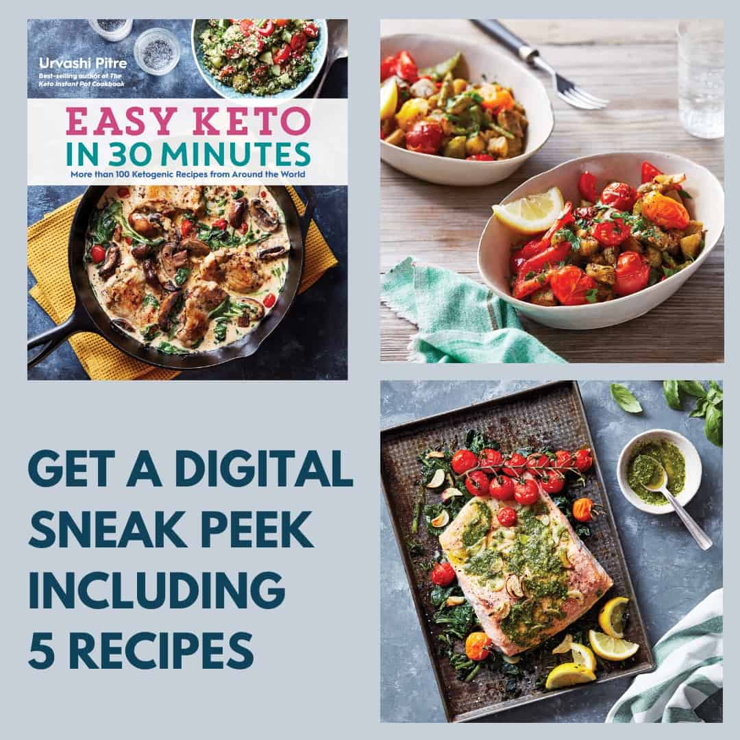 Cover of Cookbook titled Easy Keto in 30 Minutes.