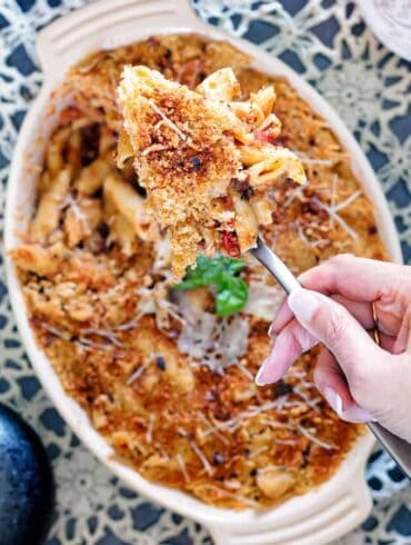 Eggplant Pasta Featured Image