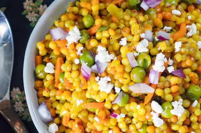 Israeli Couscous Recipe Featured Image