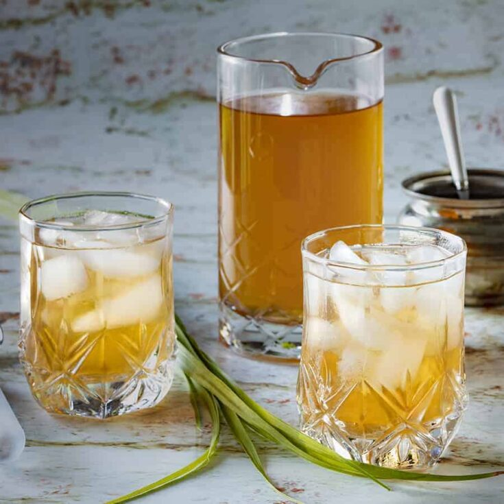 Lemongrass Tea with Ginger