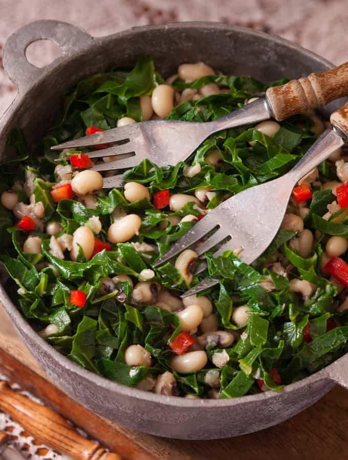 Vegetarian Black Eyed Peas