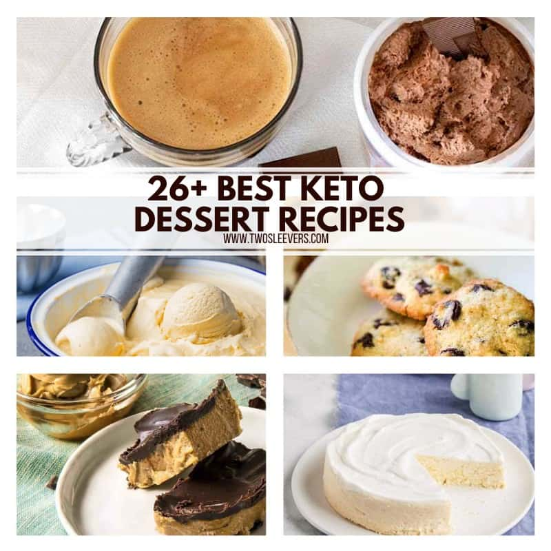 Cheap Used  Keto-Friendly Dessert Recipes Keto Sweets