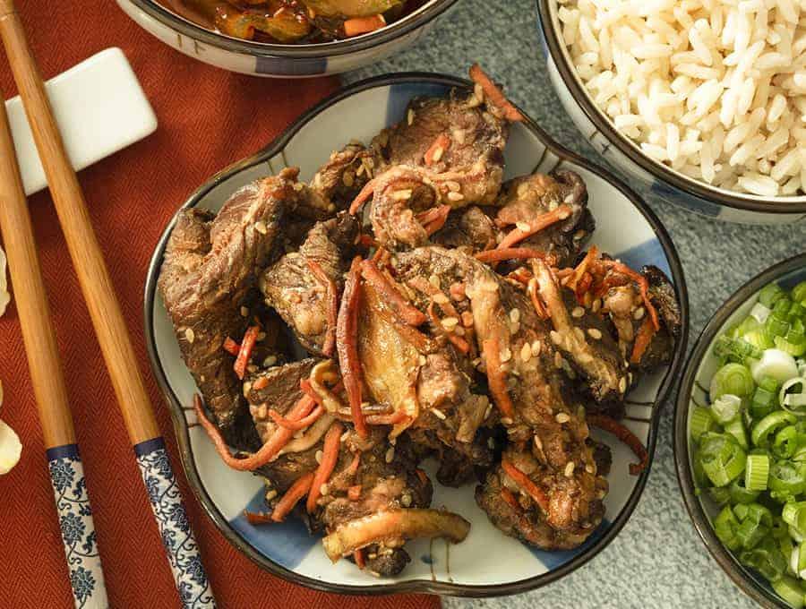 Beef Bulgogi Korean Beef Bulgogi Recipe Twosleevers Com