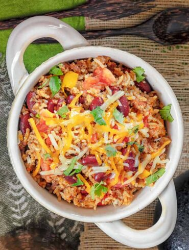 Mexican Ground Beef Casserole Featured Image
