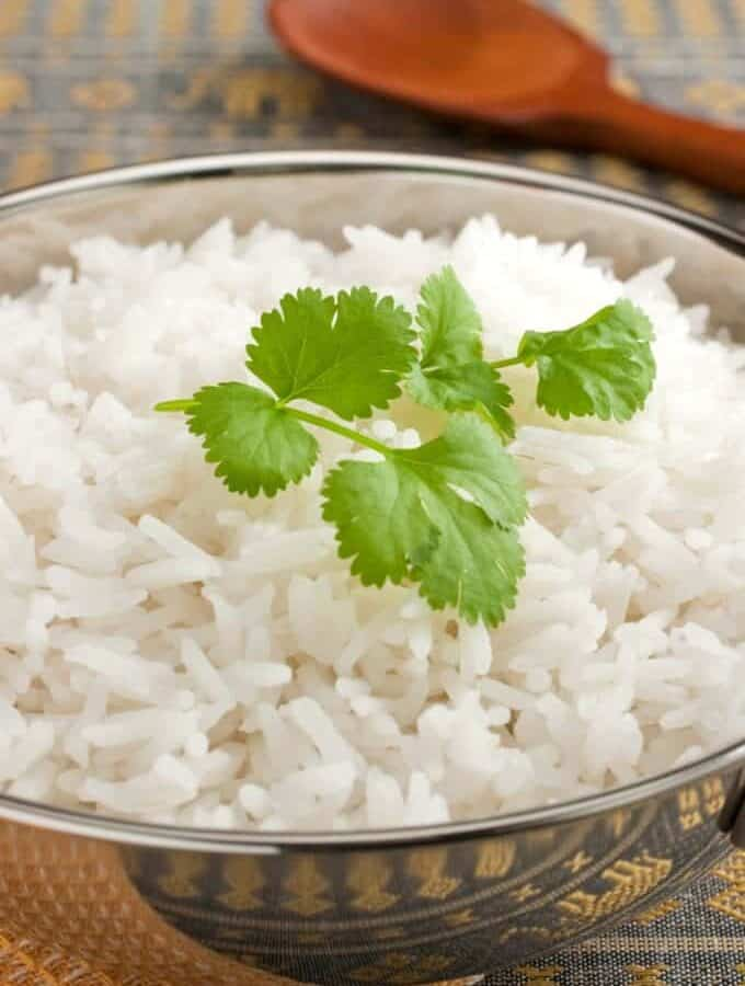 Instant Pot Basmati Rice Featured Image
