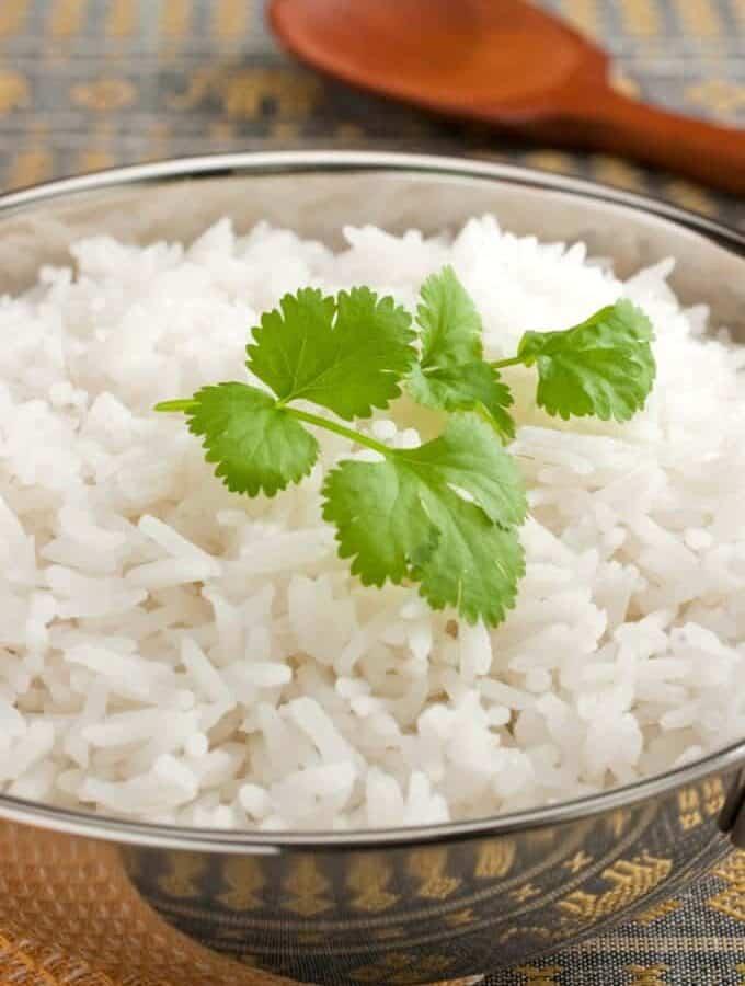 Instant Pot Basmati Rice Featured Image
