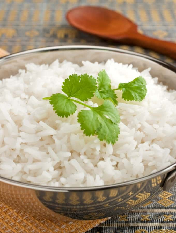 Instant Pot Basmati Rice Tall