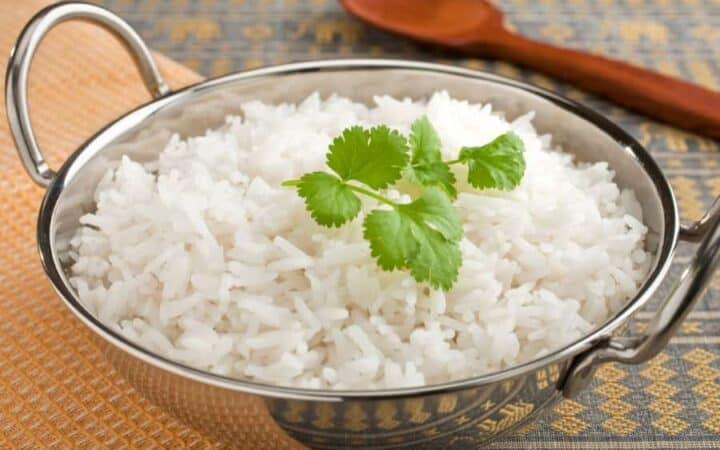 Instant Pot Basmati Rice Wide