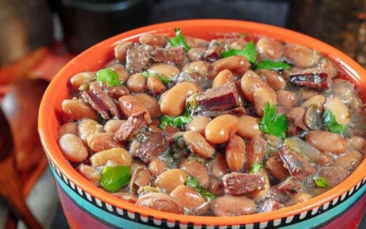Instant Pot Pinto Beans Wide