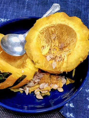 Instant Pot Acorn Squash Featured Image