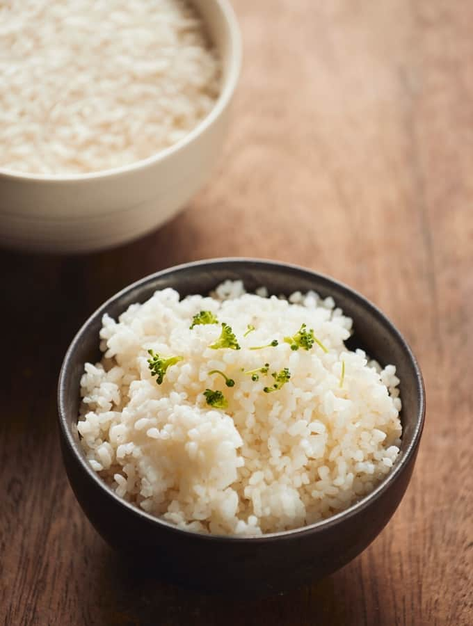 Instant Pot Jasmine Rice Tall