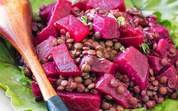 Beet Salad With Lentils