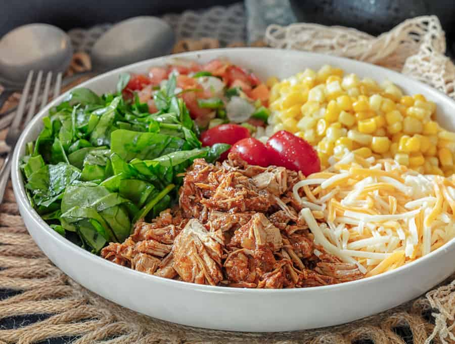 Chicken Taco Salad Wide