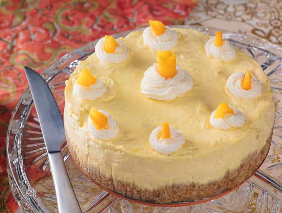 Mango Cheesecake Wide