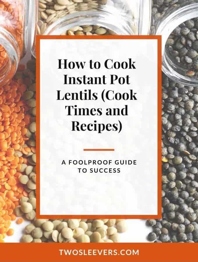 instant pot lentils thumbnail