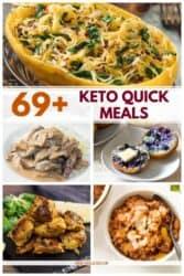 Keto Quick Meals