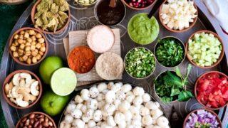 Makhana Bhel – Gluten & Soy Free Vegan Foxnut Indian Salad