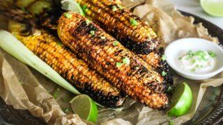 Street-Style Spicy BBQ Corn (Butta) | Gluten Free, Side
