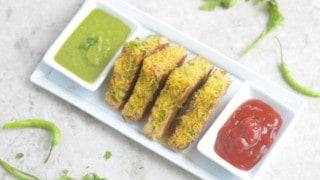Masala Bombay Vegetable Grillled Sandwich