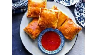 Indian Chicken Puff – Chicken Curry Puff Recipe