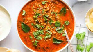 Spicy Misal Pav Recipe
