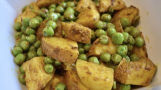 Aloo Mutter (Indian Curried Potatoes and Peas)