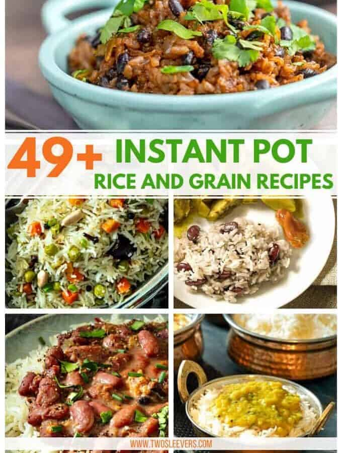 instant pot rice and grains recipes