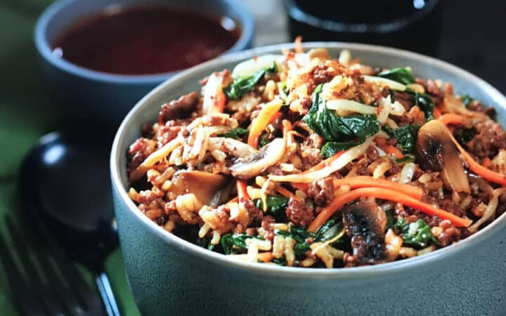 Korean Beef Bowl Wide